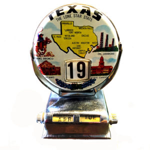 texas calendar small