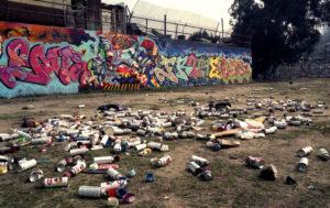 Belmont Tunnel Graffiti Yard
